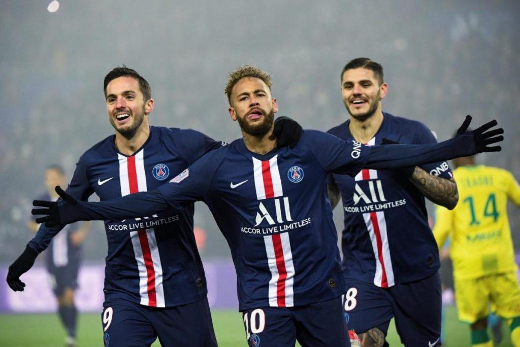 ผลฟุตบอลลีกเอิง ฝรั่งเศส ปารีส แซงต์ แชร์กแมง