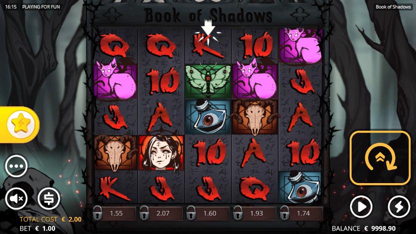 Book of Shadows เกมสล็อตมาใหม่